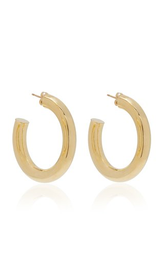 Dylan Gold-Plated Hoop Earrings