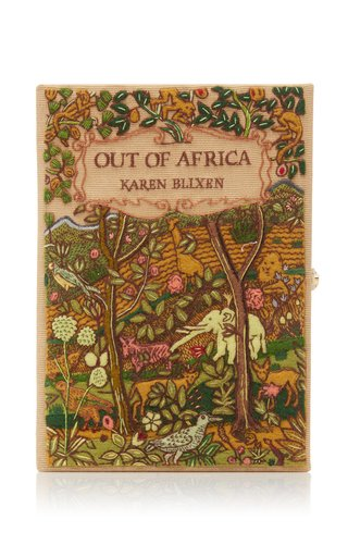SpecialOrder-M'O Exclusive Out Of Africa Book Clutch with 01/16-CP
