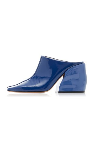 Leon Patent Leather Mules