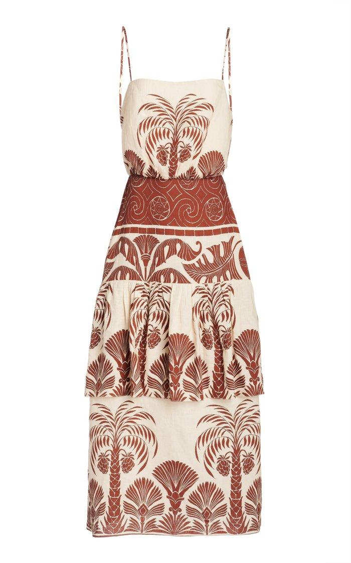 Journey Legacy Sleveless Linen Dress