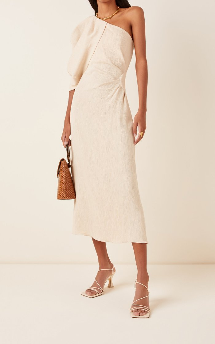 Sea Island Removable Sleeve Dress