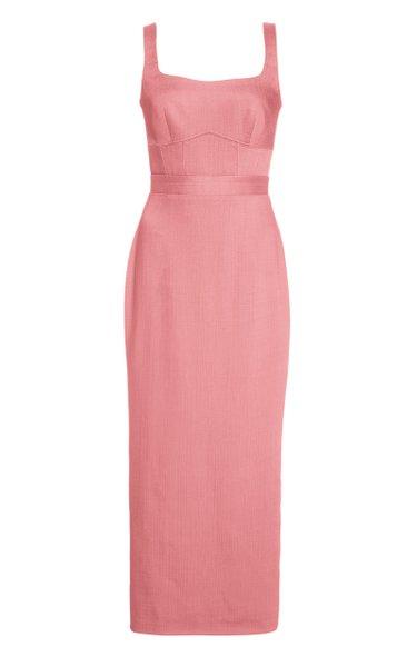 Exclusive Woven Midi Dress