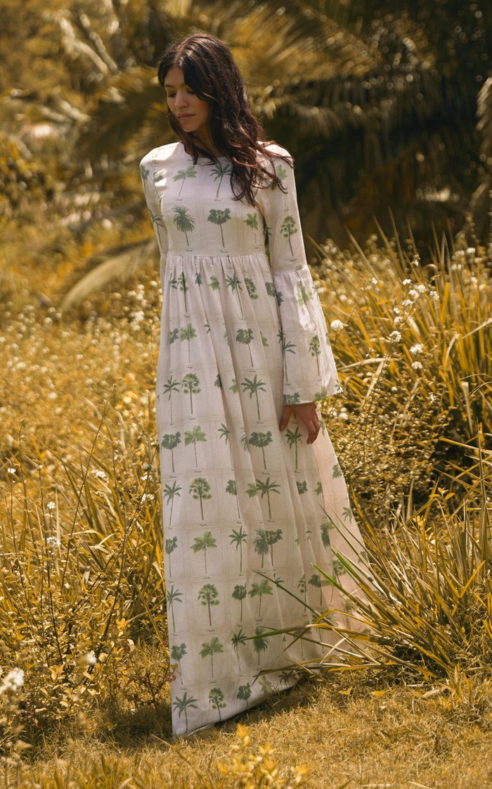 Papaya Caribe Maxi dress