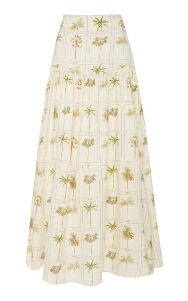 Anis Caribe Midi Skirt