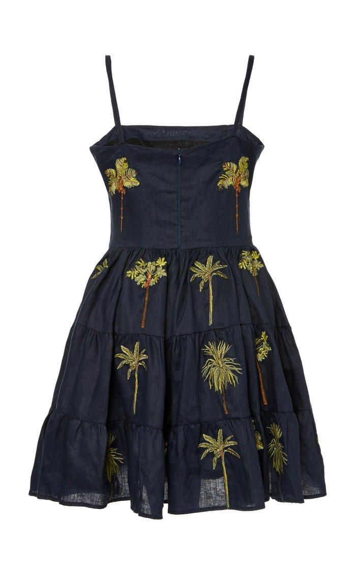 Lima Tropico Printed Linen Mini Dress