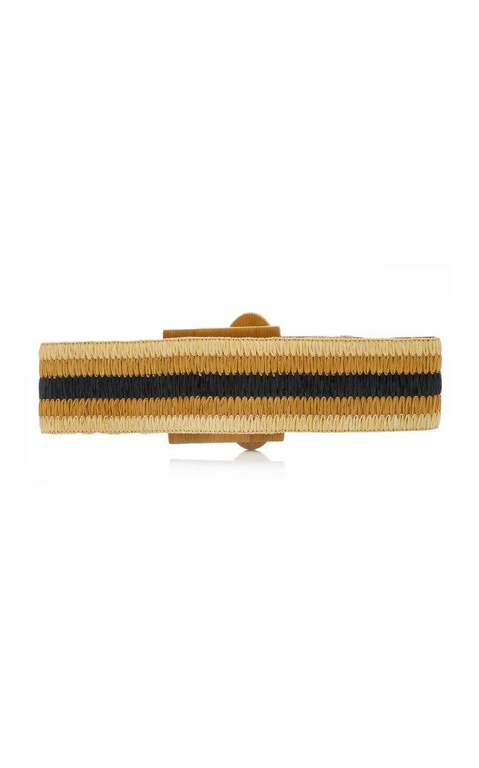 Byblos Woven Leather Belt