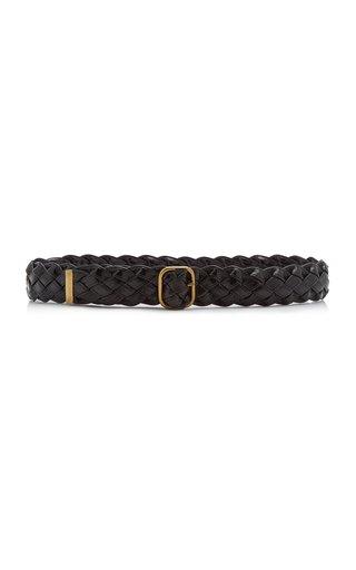 Woven Vegan Leather Belt
