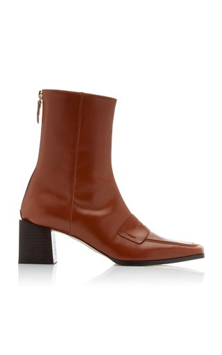 Penny Leather Boots