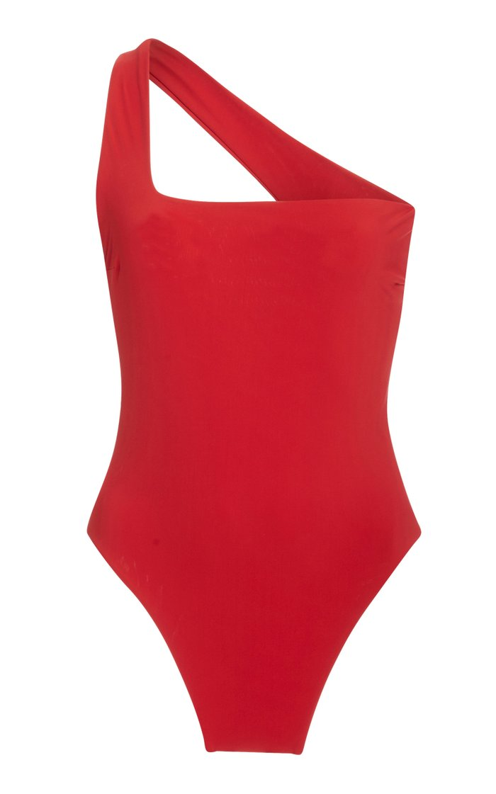 Sofia One-Shouldered One-Piece Swimsuit