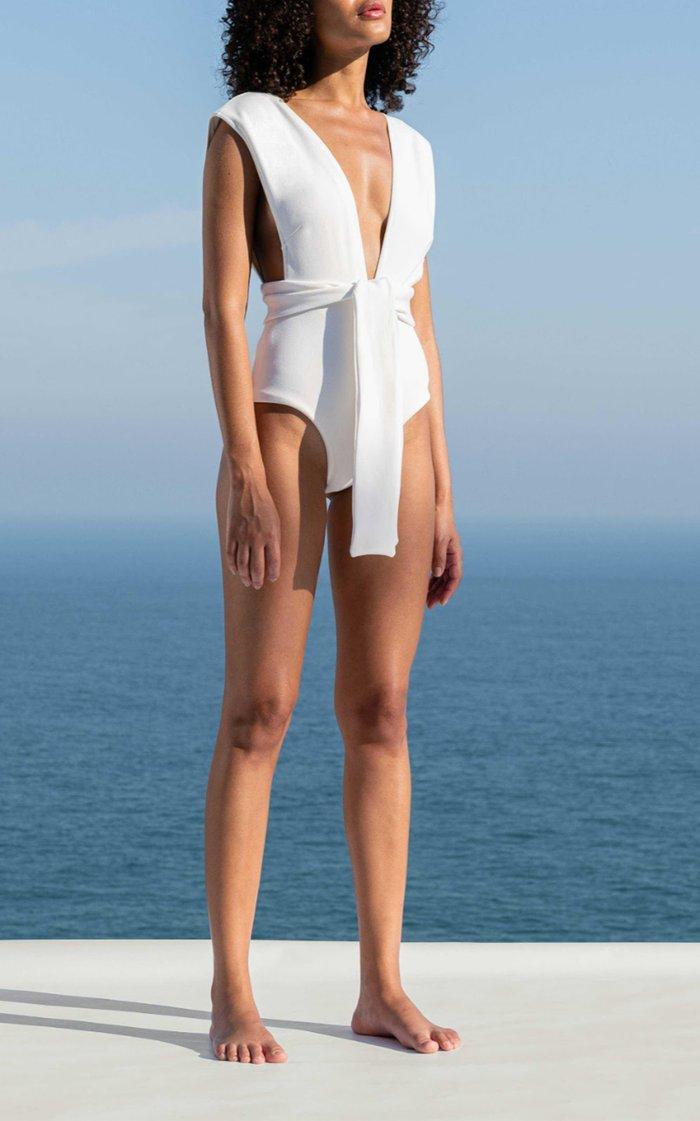 Roge Tie-Waist One-Piece Swimsuit