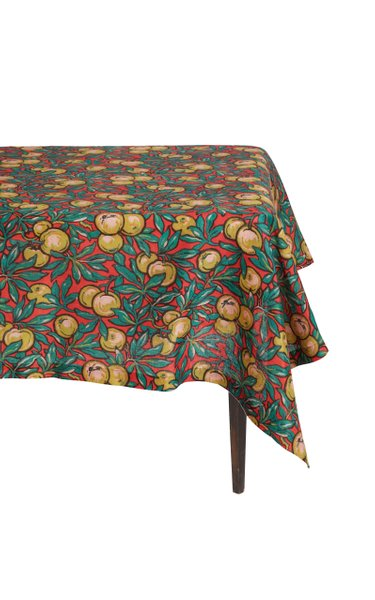 Lime Tree Tablecloth 160x320