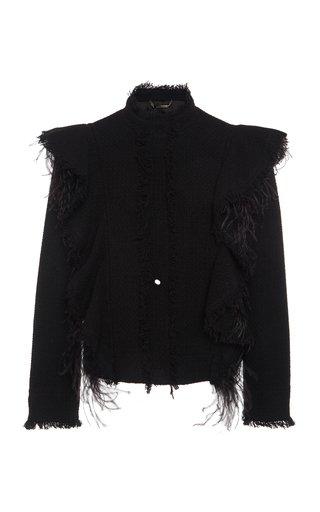 Feathered Tweed Jacket