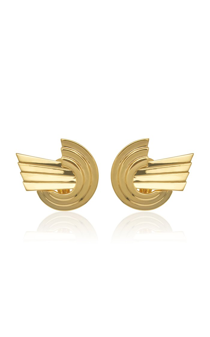 Meryl Gold-Plated Brass Earrings