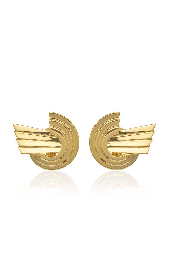 Meryl Gold-Plated Brass Earrings