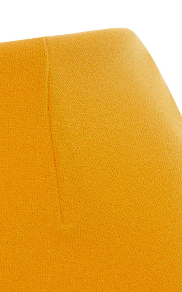 High-Cut Crepe Bikini Bottoms
