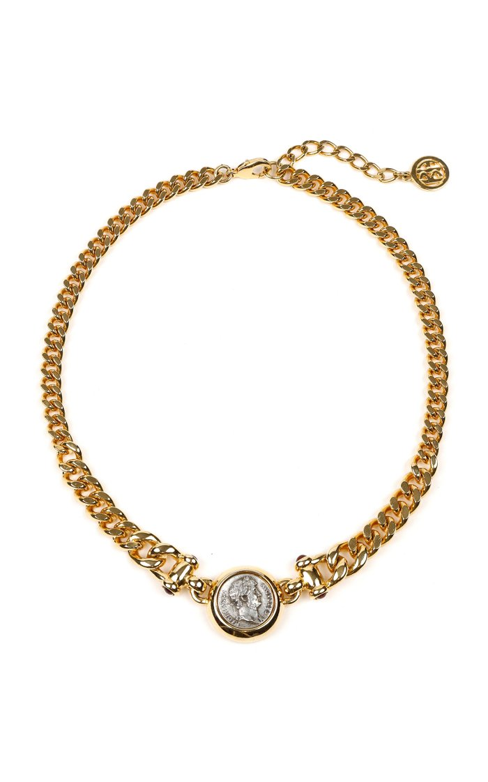 Gold-Plated And Silver-Tone Necklace