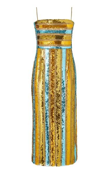 Stargaze Sequined Cocktail Dress