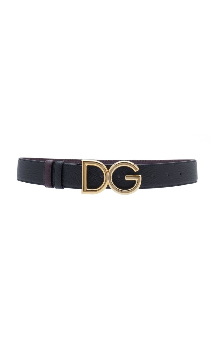 In The Wood Reversible Leather Belt