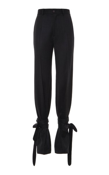 Tailored Wrapped Trousers