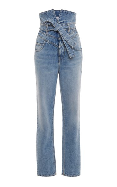 Rigid High-Rise Straight-Leg Jean