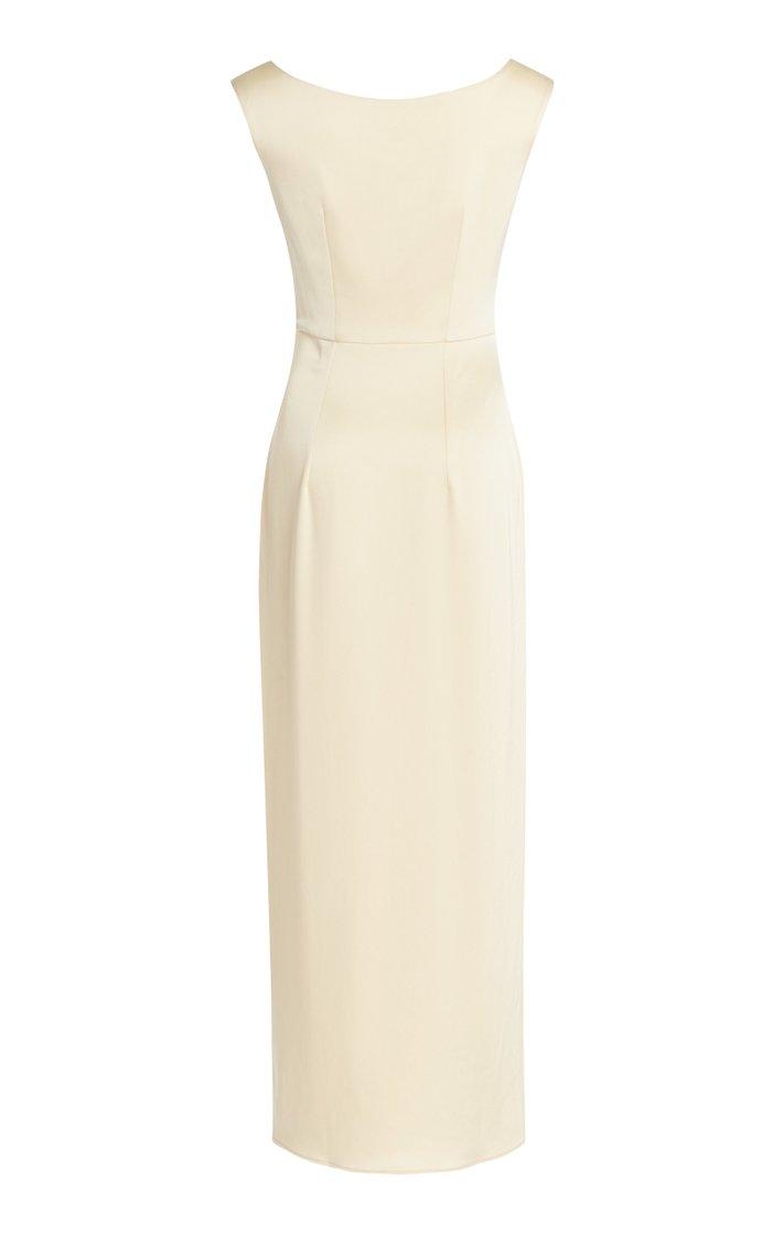Butter Satin Maxi Dress