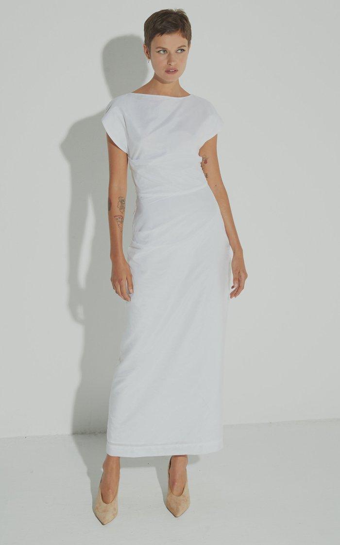 Lily Cotton-Blend Dress