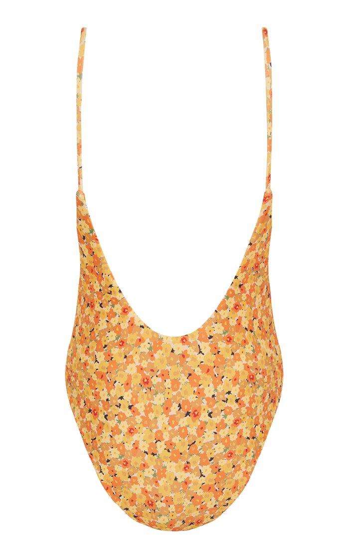 Danny Floral-Print Swimsuit