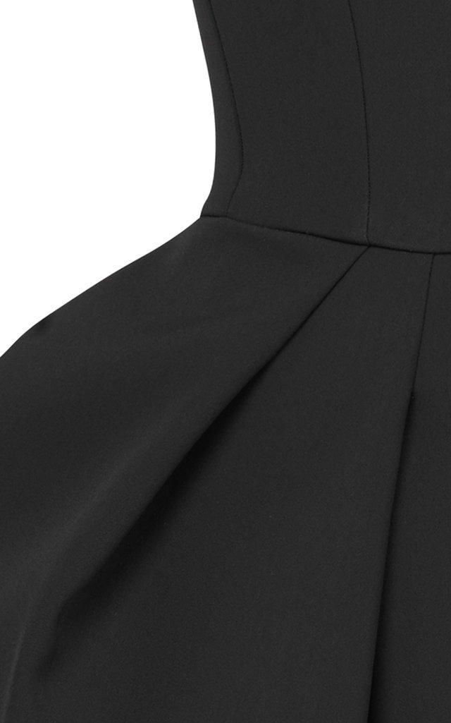 Neuron Pleated Cady Mini Dress