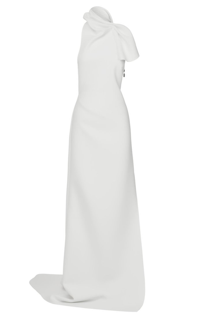 Acceptance Halterneck Cady Gown