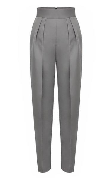 Social Pleated Straight-Leg Pants