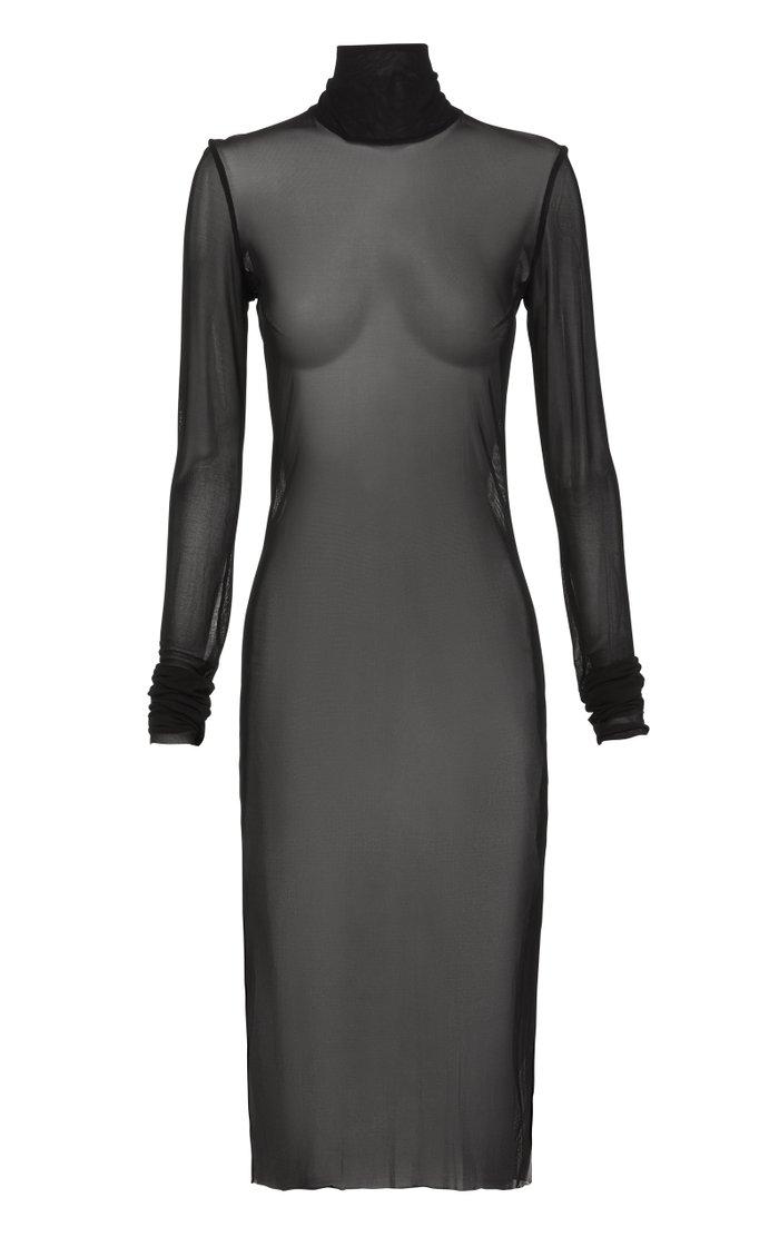 Primeval Mesh Slip Dress