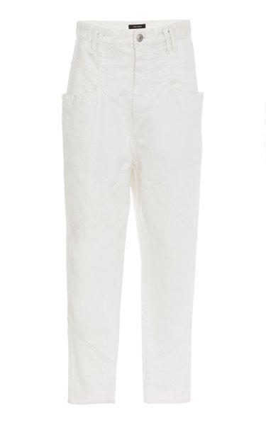 Nadeloisa Rigid High-Rise Straight-Leg Jean