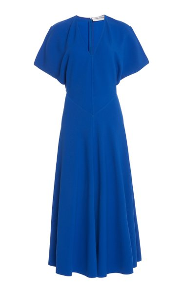 Dolman-Sleeve Midi Dress