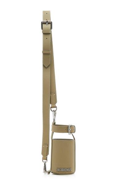 Le Porte Gourde Leather Shoulder Bag