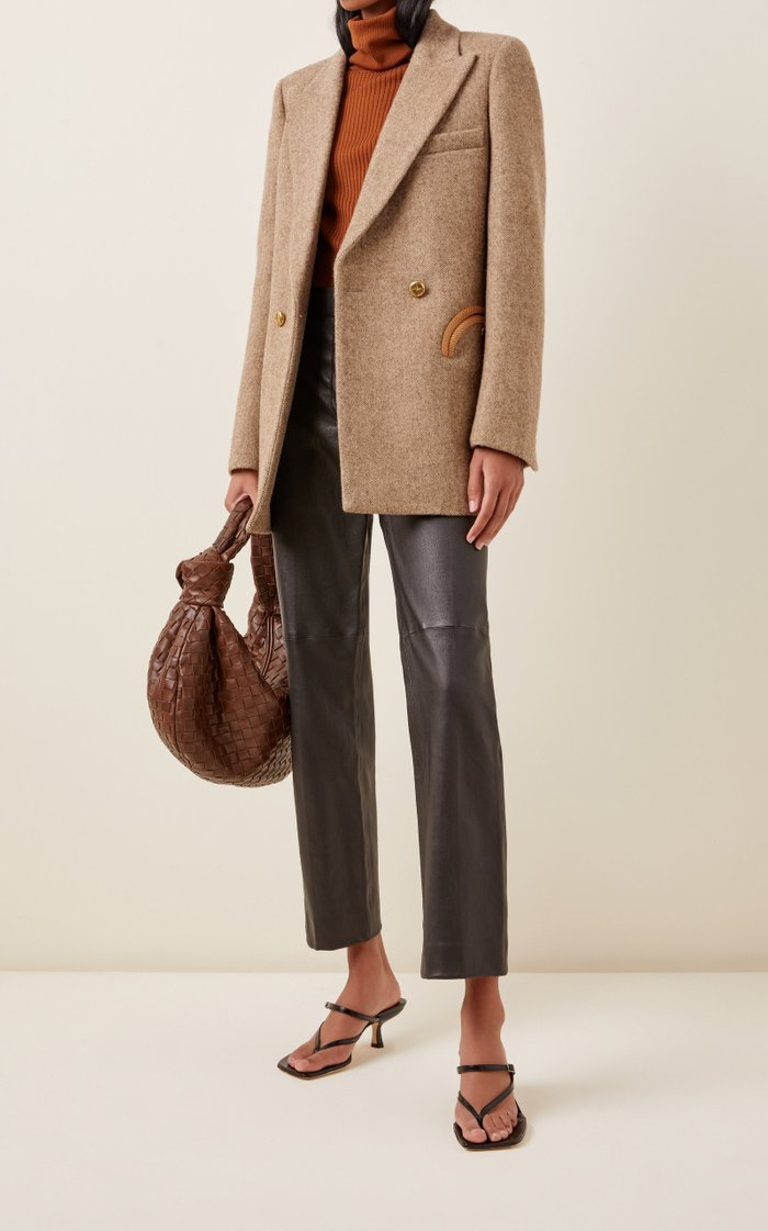 Solandge Everyday Herringbone Wool Blazer