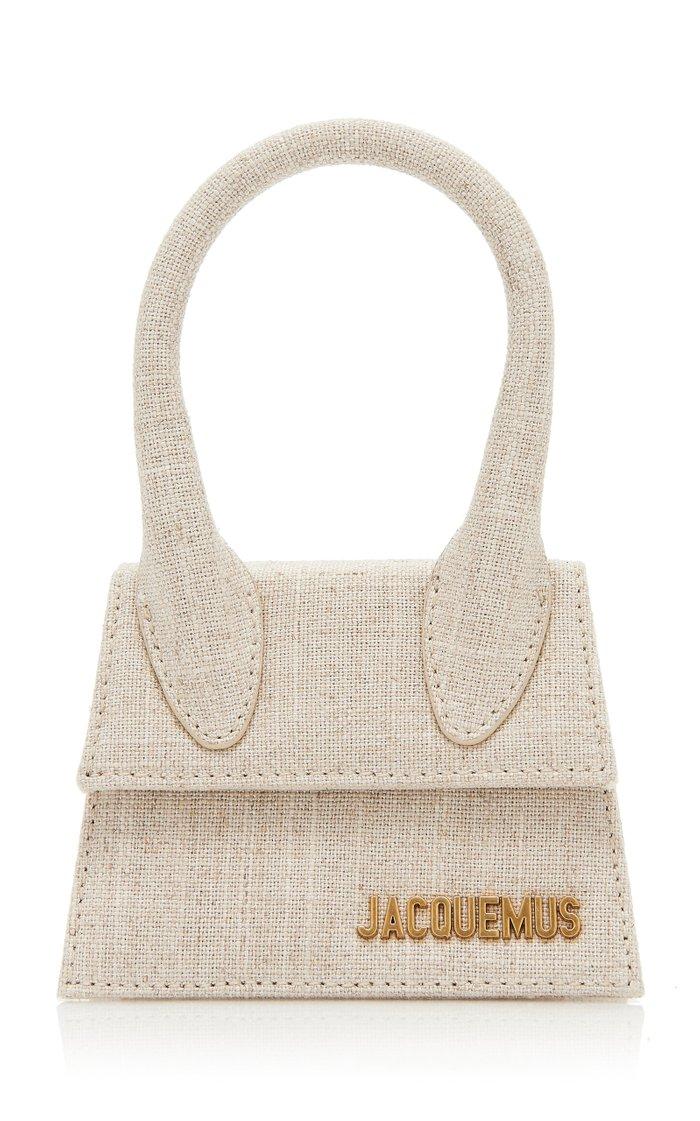 Le Chiquito Linen Top Handle Bag