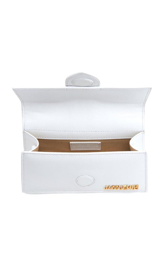 Le Bambino Leather Top Handle Bag