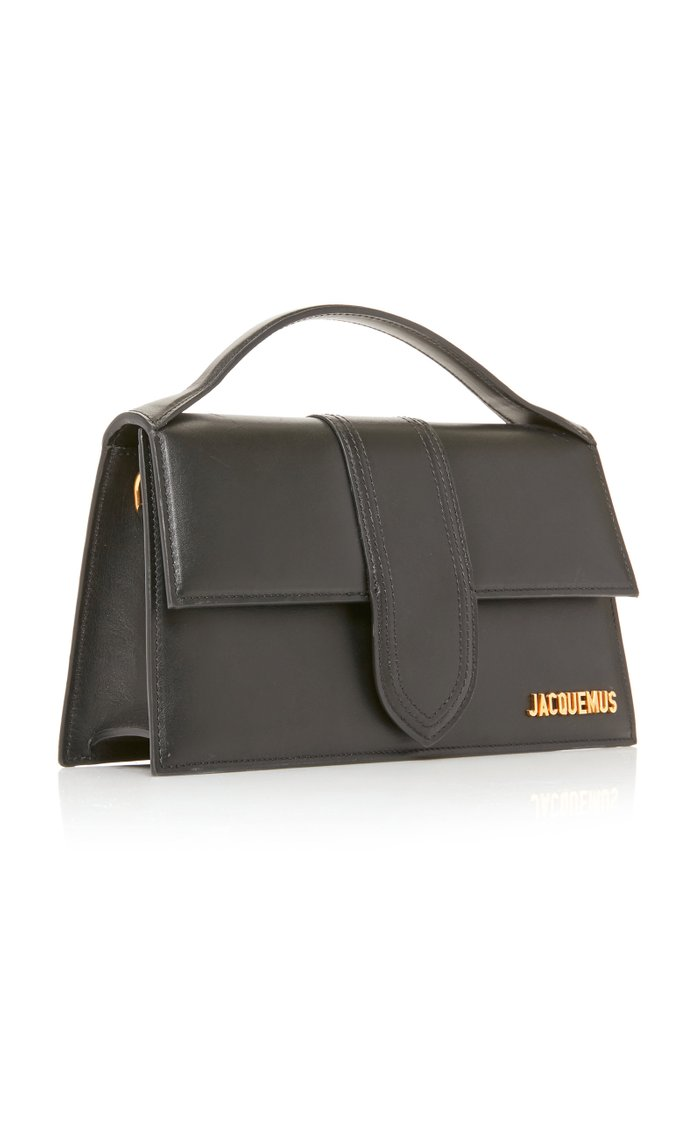 Le Grand Bambino Leather Top Handle Bag