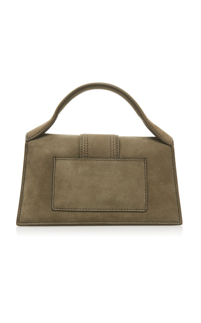 Le Bambino Suede Top Handle Bag