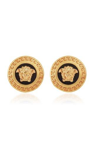 Gold-Tone Clip Earrings