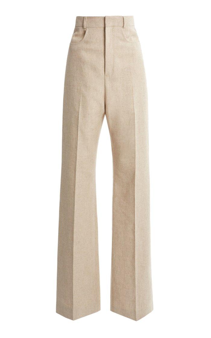 Sauge Woven Wide-Leg Pants