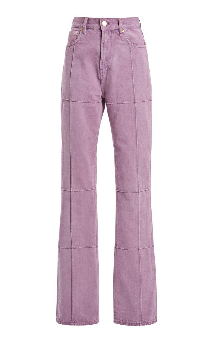 Carro Organic Cotton Straight-Leg Jeans