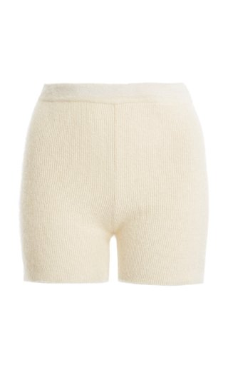 Arancia Mohair-Blend Shorts