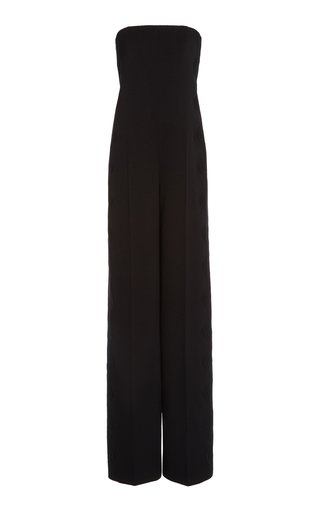 Hallie Pleated Tapered Jumpsuit