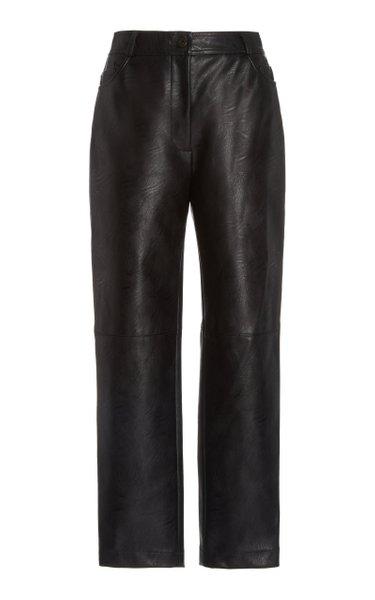 Hailey Vegan Leather Skinny Pants