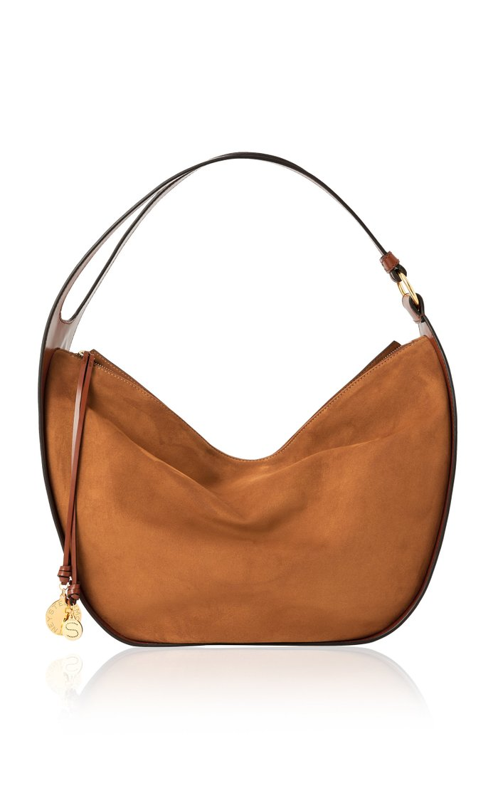 Vegan Suede Shoulder Bag