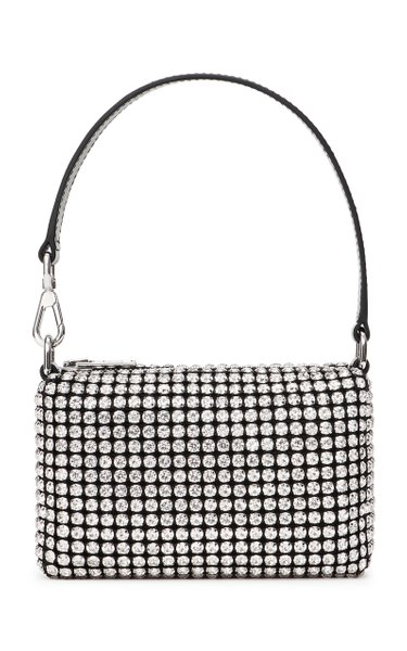 Wangloc Crystal-Embellished Mini Top Handle Bag