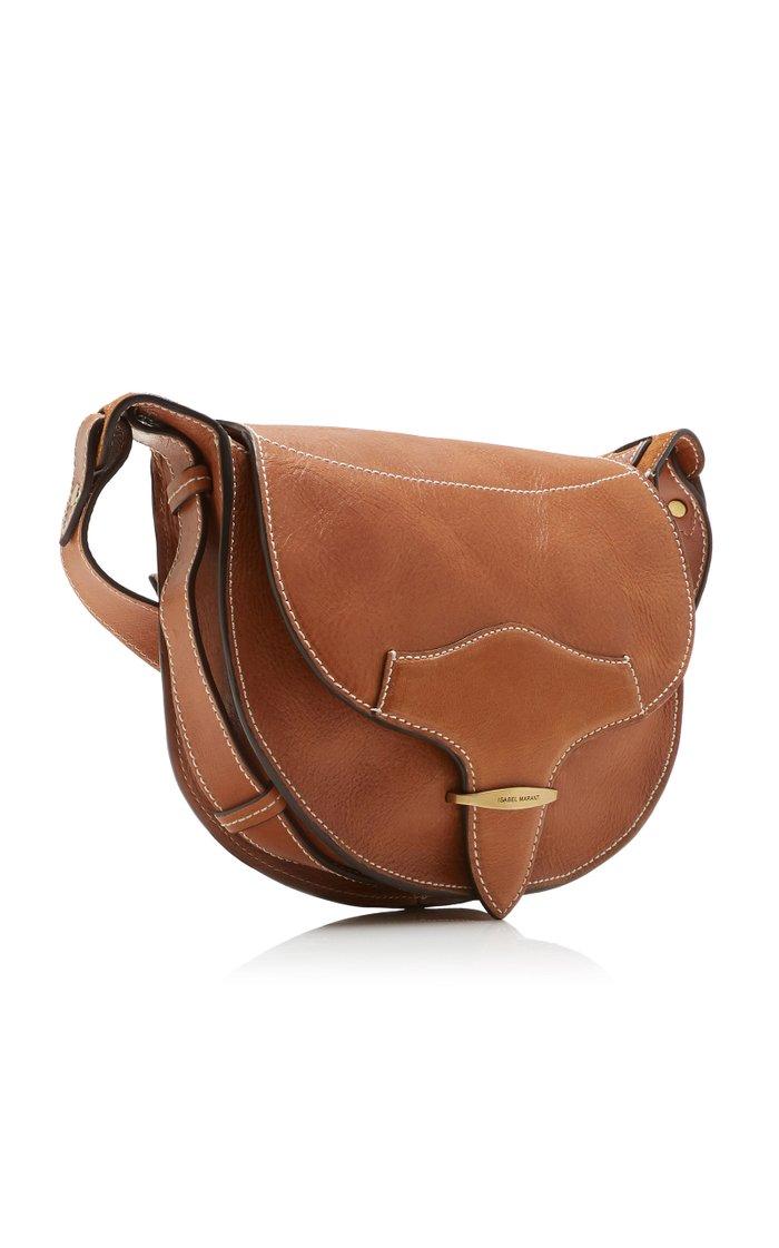 Botsy Leather Shoulder Bag