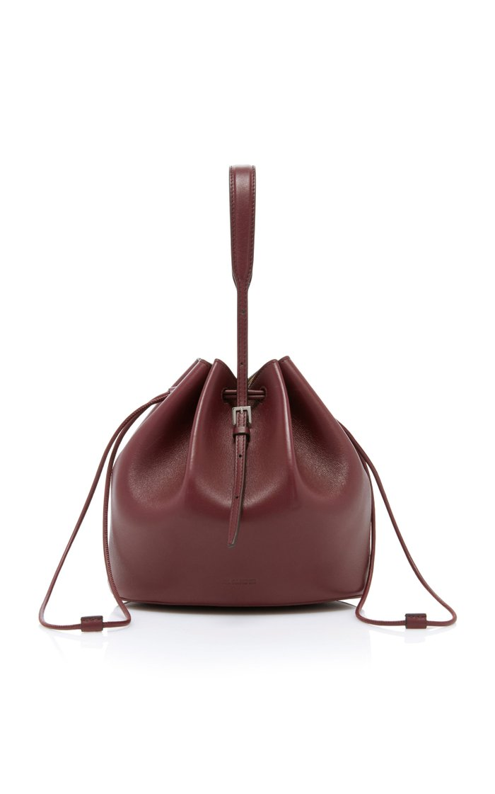Holster Leather Bucket Bag