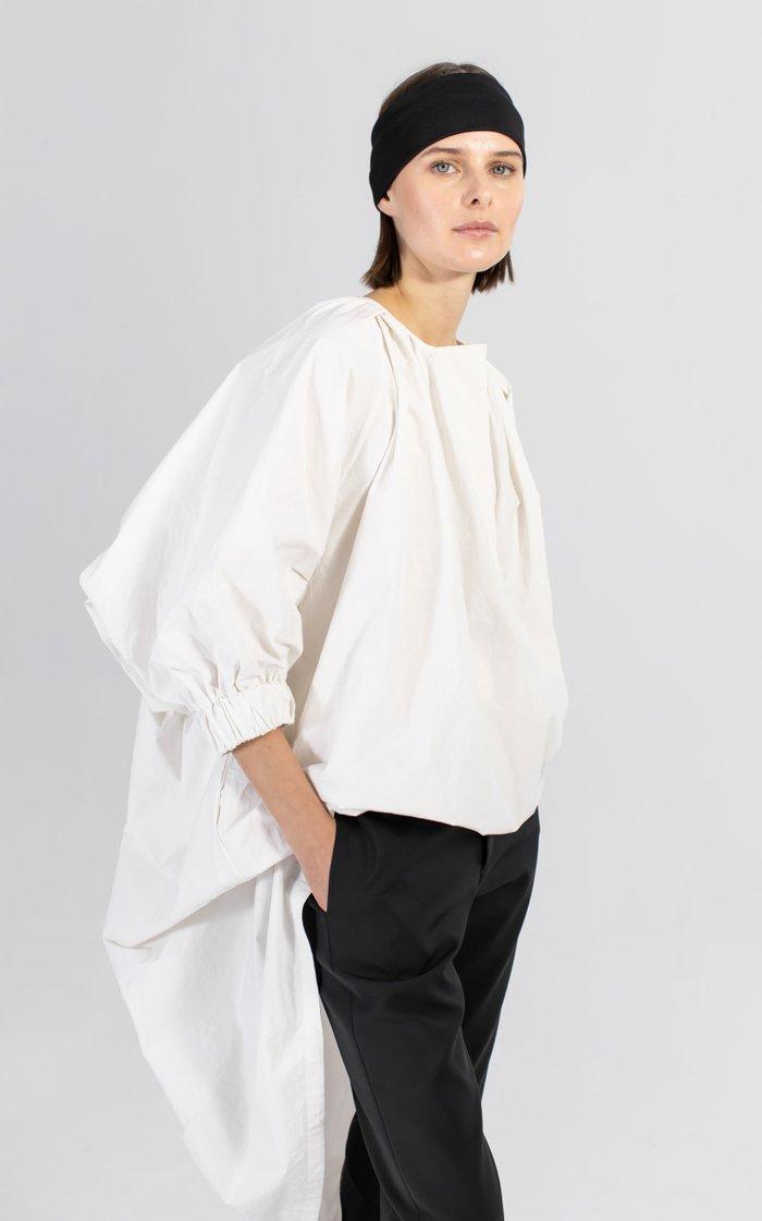 Elise Oversized Cotton-Poplin Dress